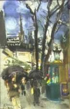 Boulevard Saint Michel, H. Delauras, 1930 (coll. part.)