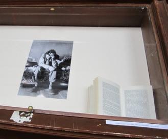Louis Ferdinand Céline par Ph. P. Vals (vue d'exposition)