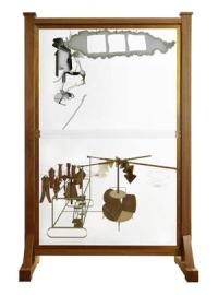Marcel Duchamp Le Grand Verre (La Mariée mise à nu par ses célibataires, même.) 1915 – 1923 / 1991 – 1992, 2ème version