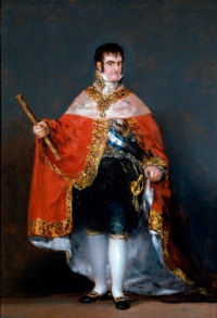 Goya Ferdinand VII source Wikipedia it 070 - light