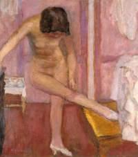 Pierre Bonnard, Nu se baissant, 1927